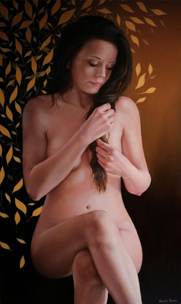 La pazienza - Olio su tela, 2017, 60x100 cm.