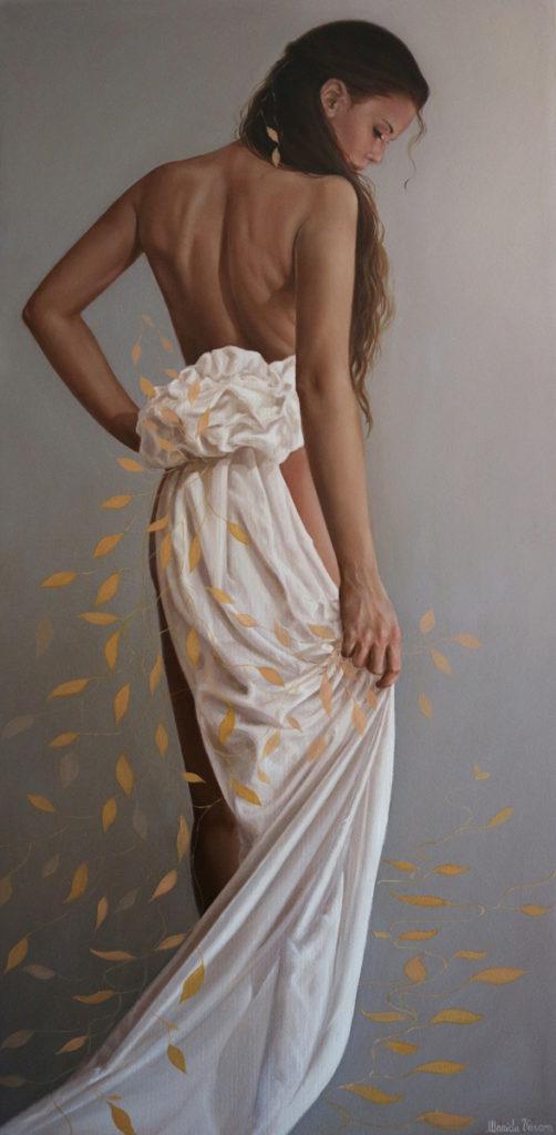 Il viaggio - Olio su tela, 2018, 50x100 cm.