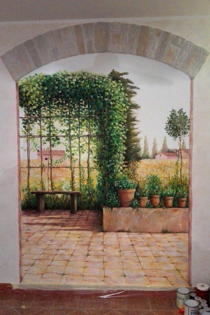 Dipinto murale - Acrilico, 2016. 1,5 x 2 m.